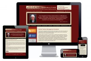 Examples of jodena.com new responsive website.
